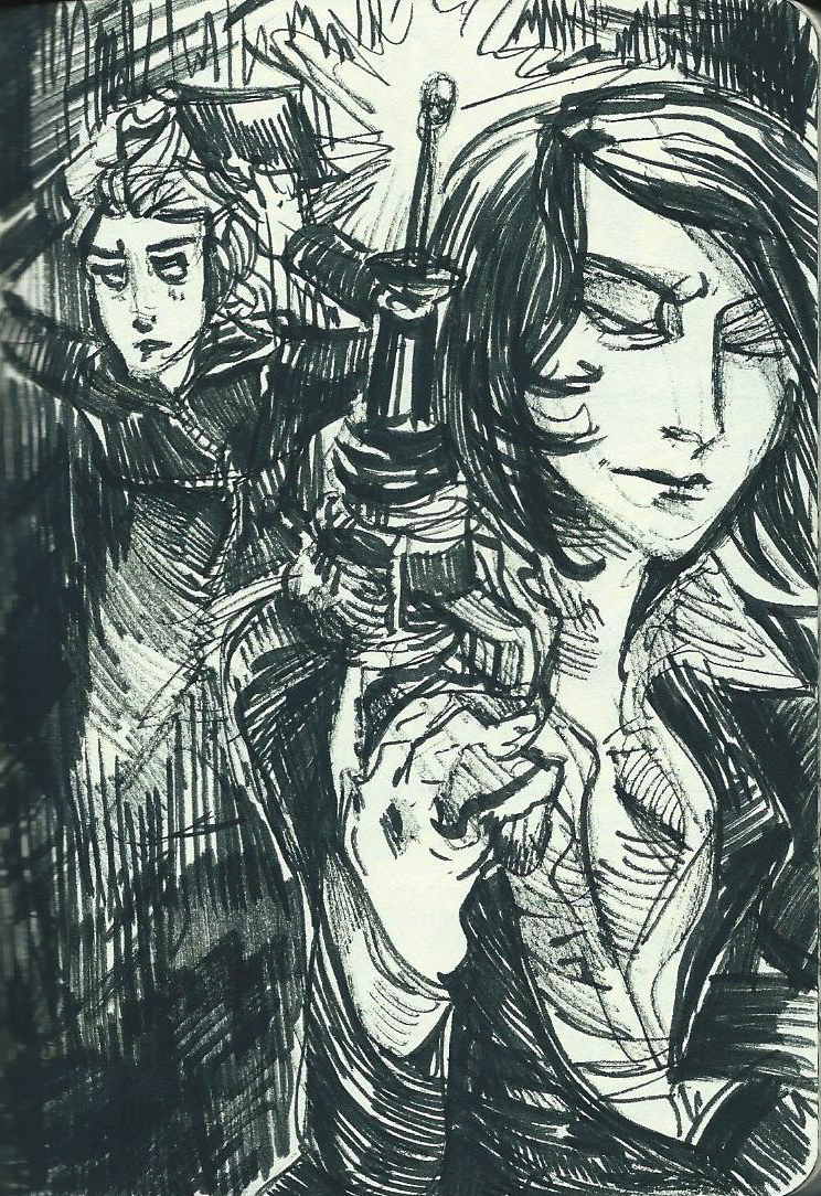 Page and Selene